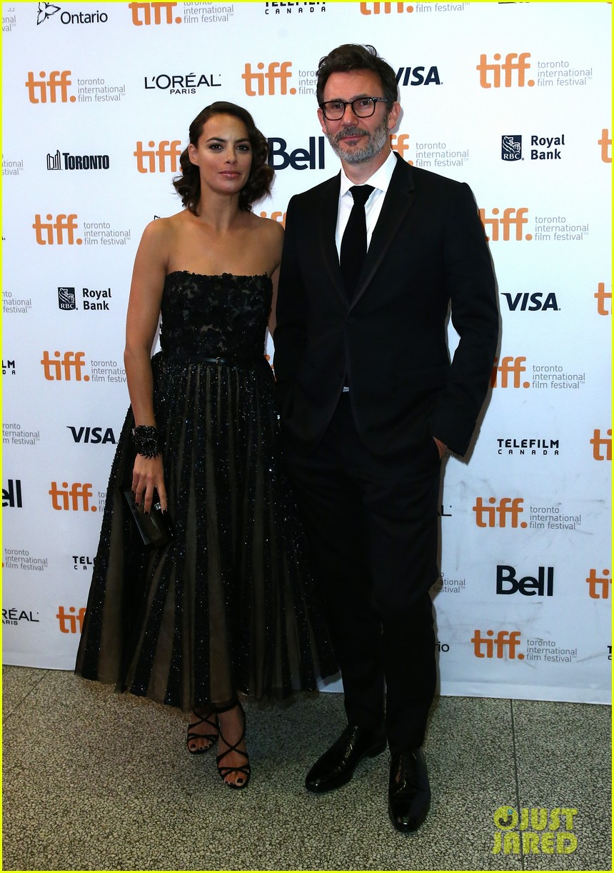 jean dujardin berenice bejo bring their art to toronto 033196730