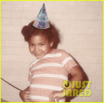 beyonce posts adorable throwback pic to celebrate 33 birthday 013189238