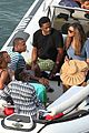 bikini clad beyonce jay z vacation with their families 18
