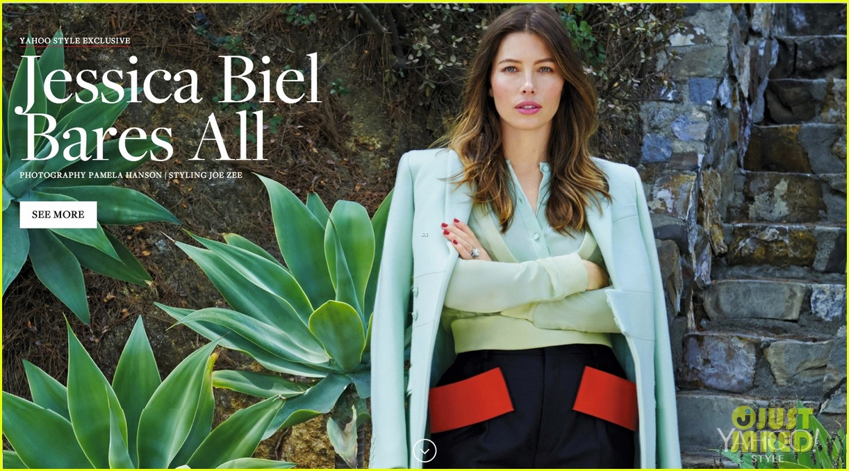 jessica biel bares all for yahoo style 033188545