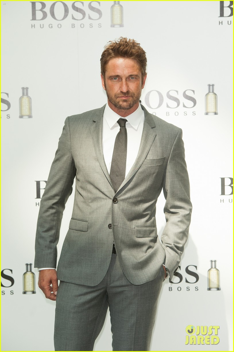 gerard butler unveiled as face of boss bottled 133187721