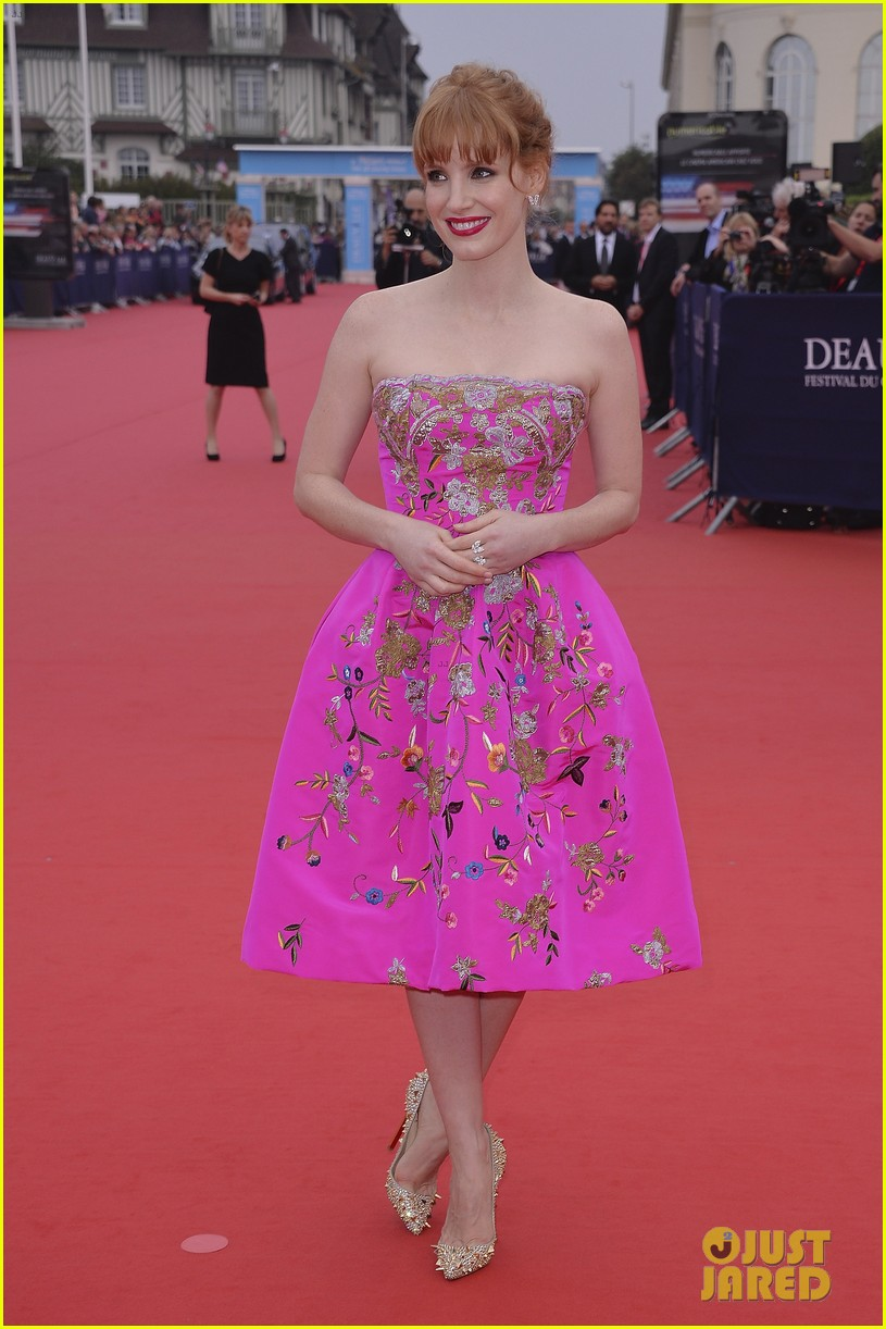 jessica chastain career honor at deauville 083190177