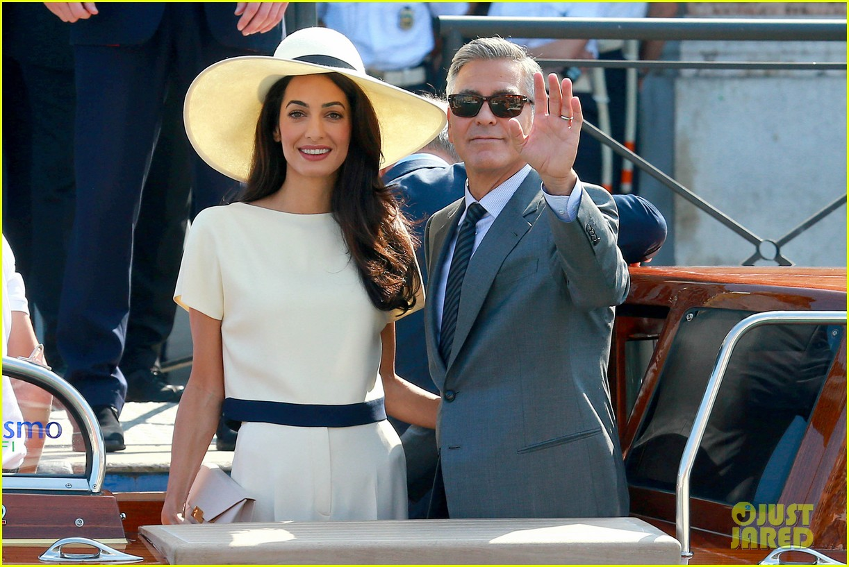 George clooney wife amal alamuddin civil ceremony 03 jpg