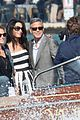 matt damon cindy crawford significant others arrive for george clooney wedding 06