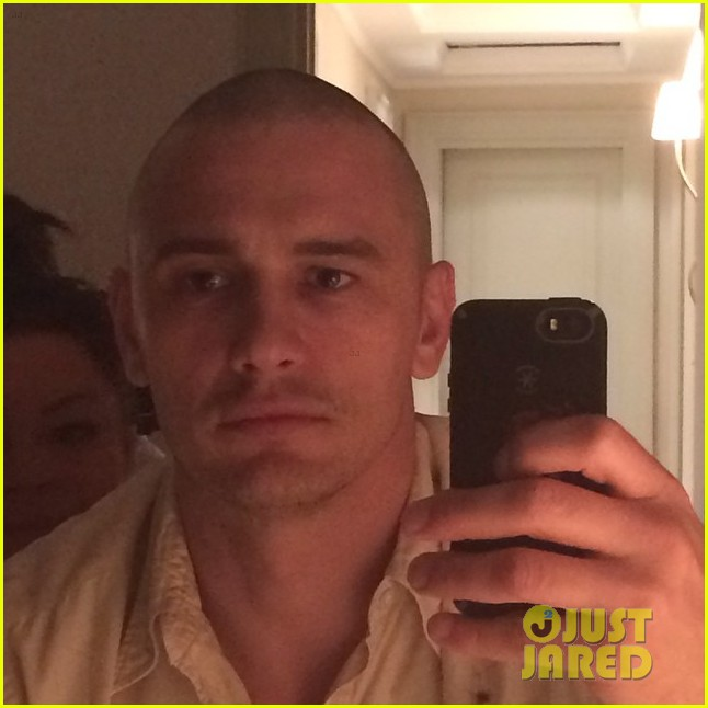 james franco is bald shaves his head 023189039