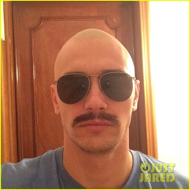 james franco is bald shaves his head 043189041