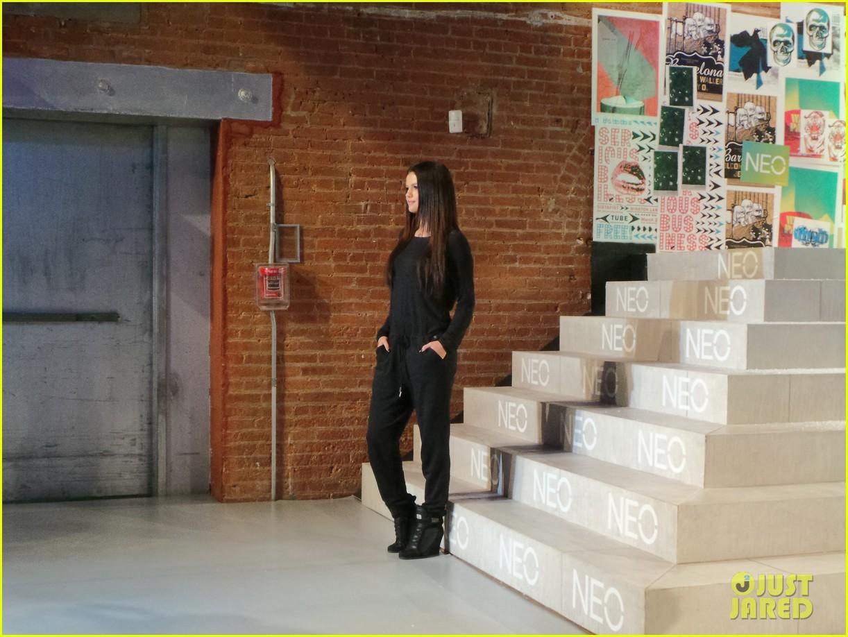 selena gomez adidas neo label show 103188699