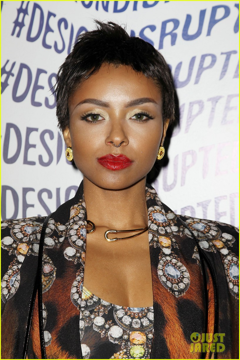 kat graham blonds show at new york fashion week 023194786