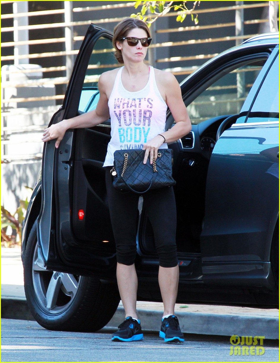 ashley greene gym bank labor day 01