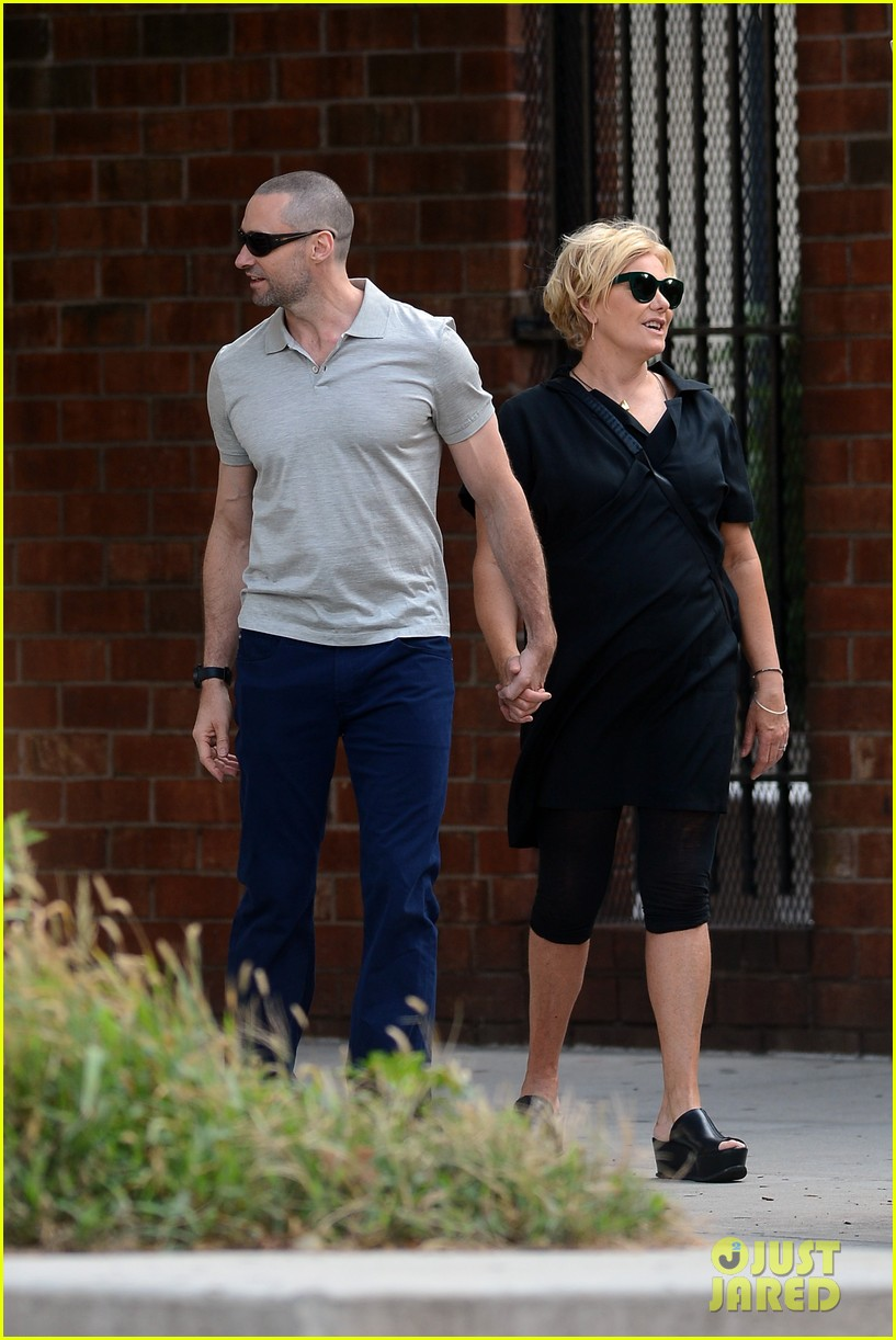 hugh jackman looks lovey dovey with wife after shaving his beard 26
