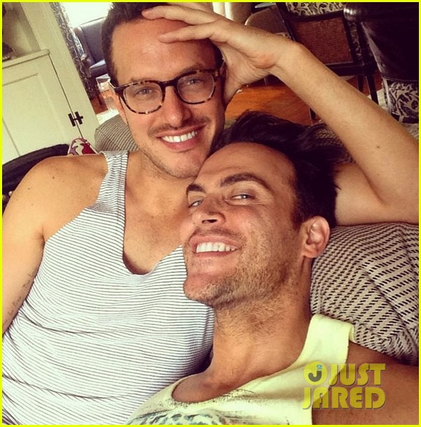 cheyenne jackson marries jason landau 013196614