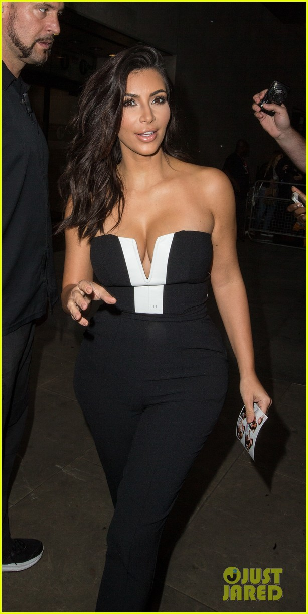 kim kardashian visits bbc radio 1 after being crowned gq 083188315