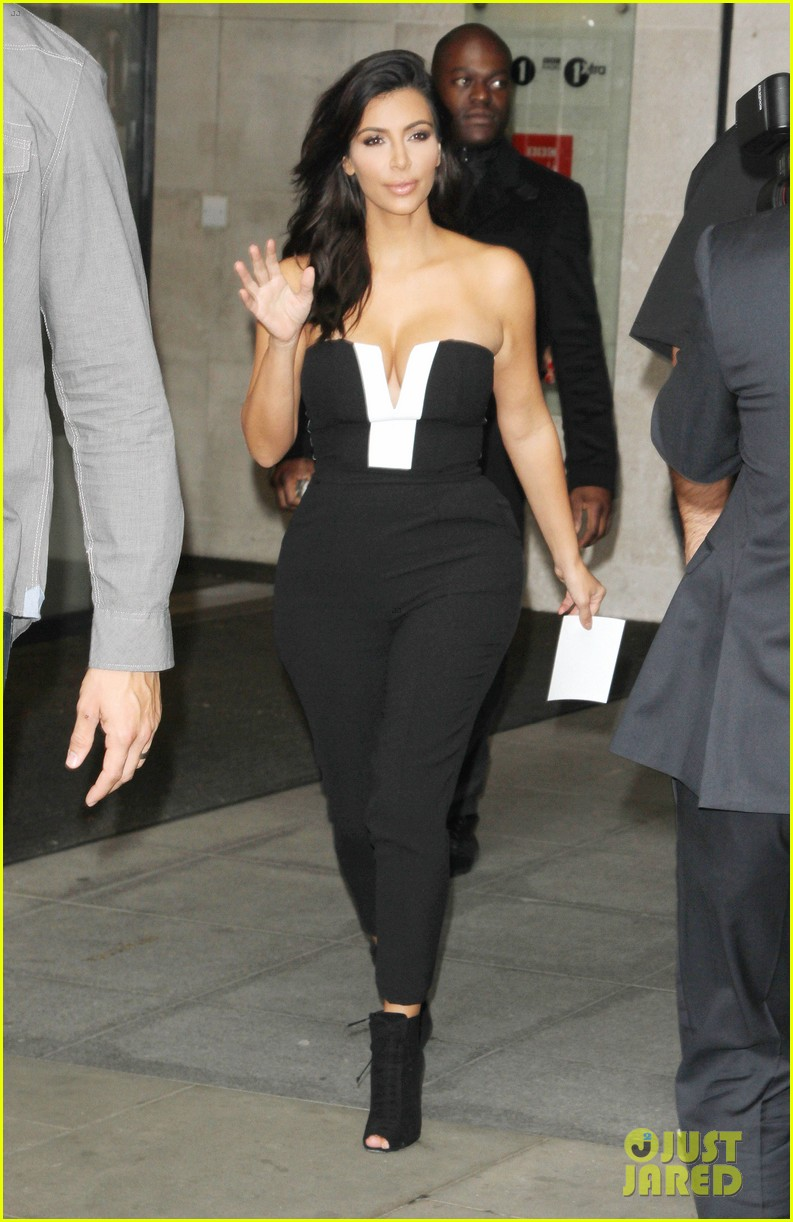 kim kardashian visits bbc radio 1 after being crowned gq 133188320