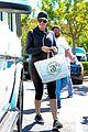 kim kardashian visits yeezus pop up store khloe kardashian french montana 08