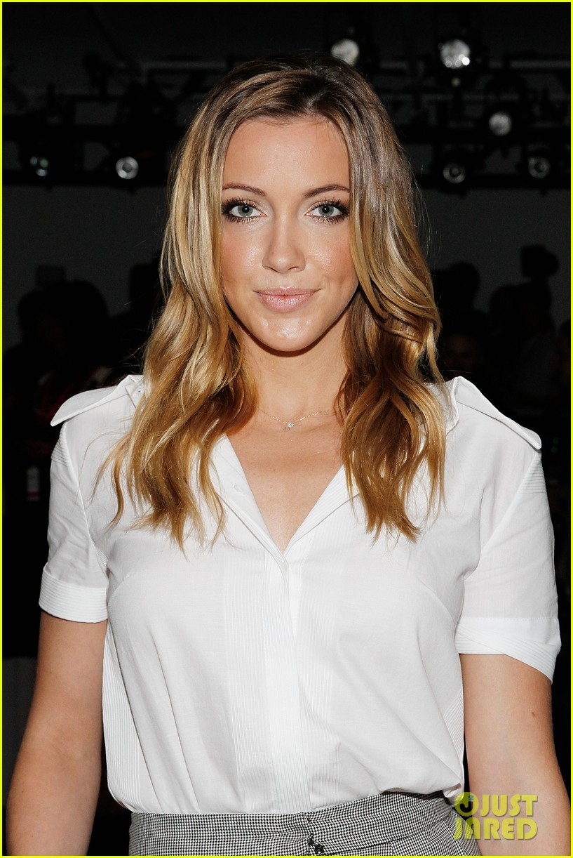 katie cassidy jessica lowndes houghton fashion show 2014 01