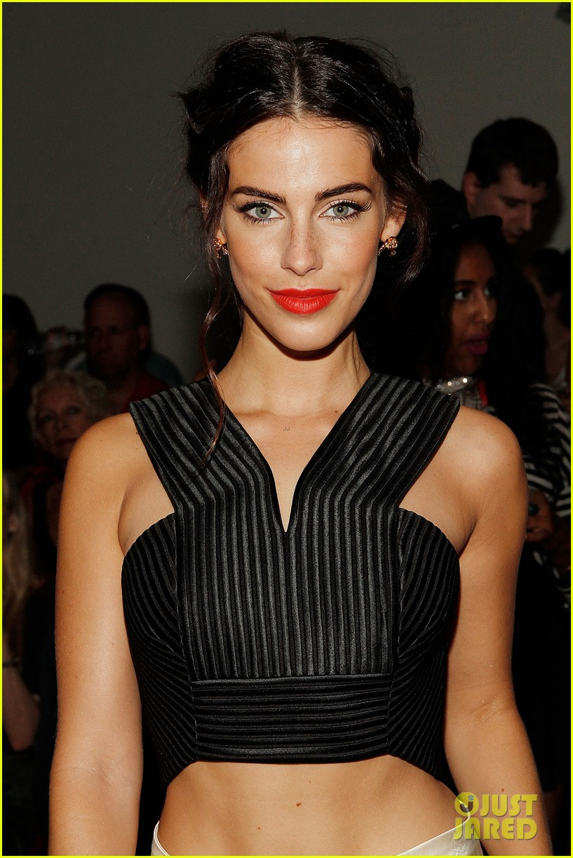 katie cassidy jessica lowndes houghton fashion show 2014 023189166