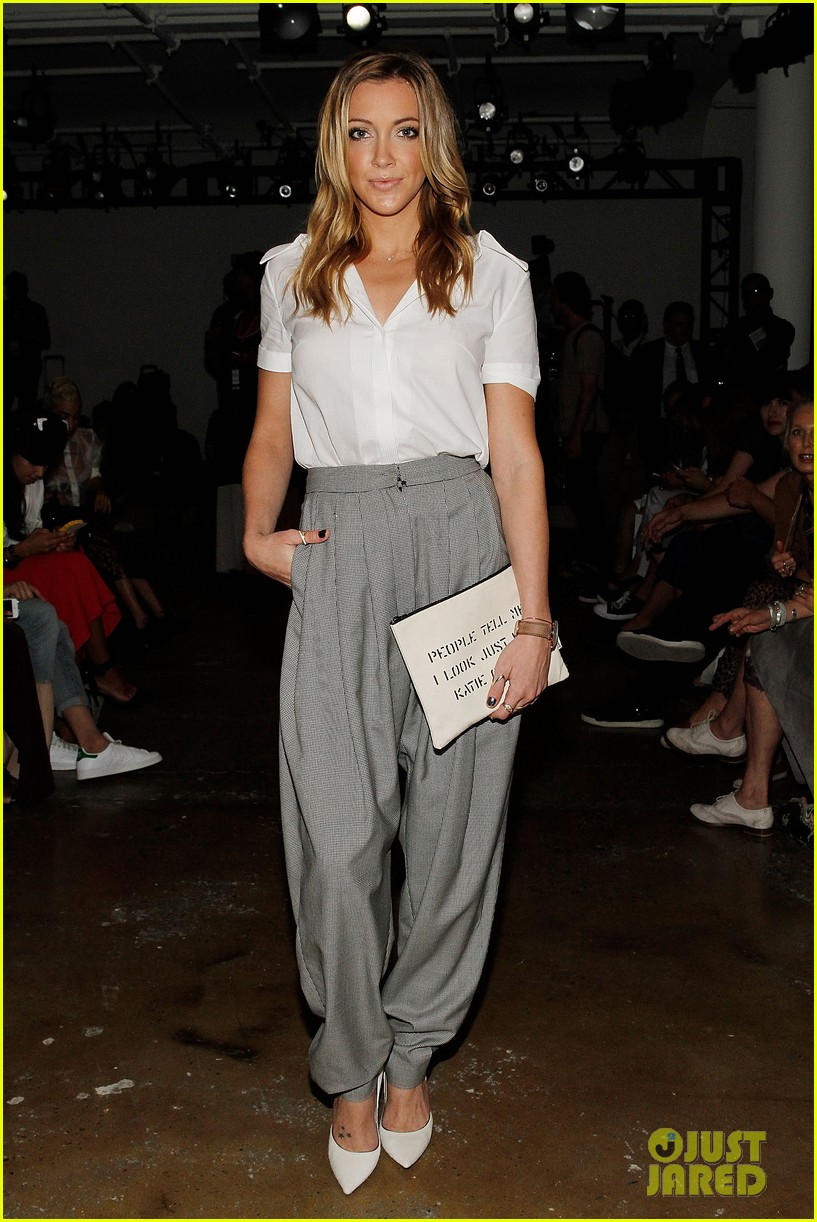 katie cassidy jessica lowndes houghton fashion show 2014 033189167
