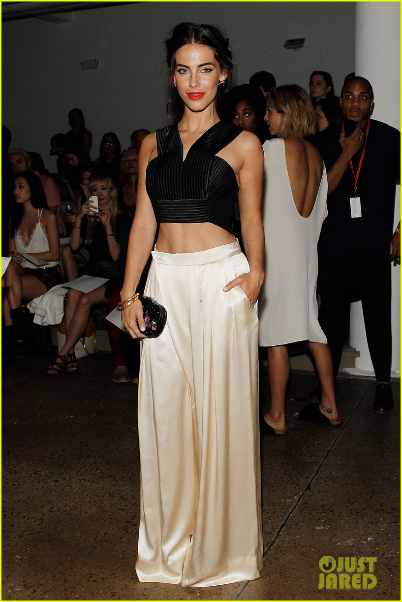 katie cassidy jessica lowndes houghton fashion show 2014 053189169
