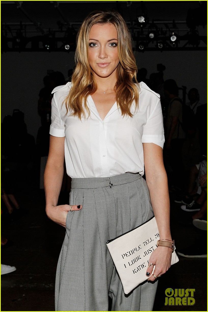 katie cassidy jessica lowndes houghton fashion show 2014 06