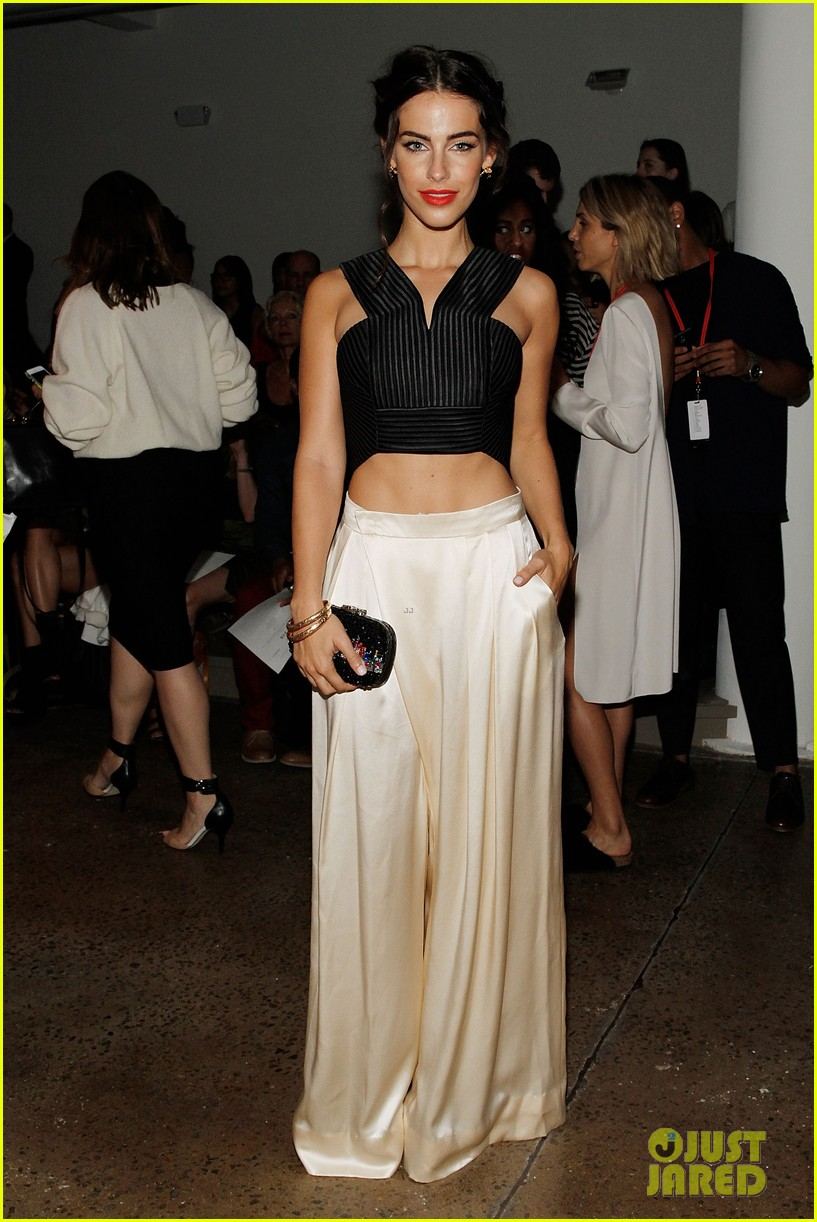 katie cassidy jessica lowndes houghton fashion show 2014 093189173