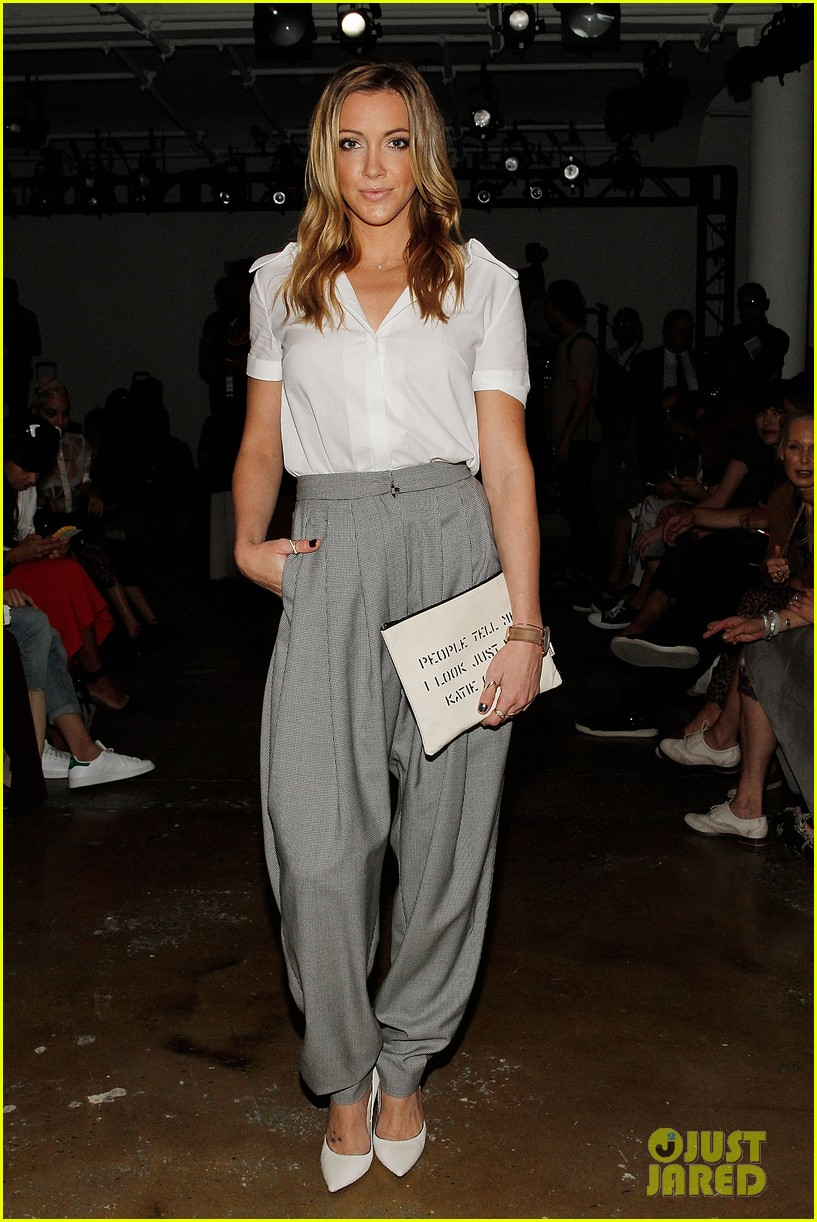 katie cassidy jessica lowndes houghton fashion show 2014 103189174