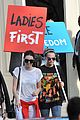 kendall jenner cara delevingne protest after karl largerfield runway 17