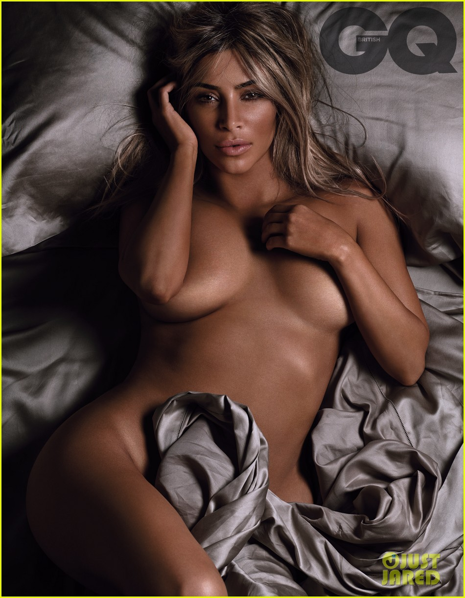 nude kardashian totally