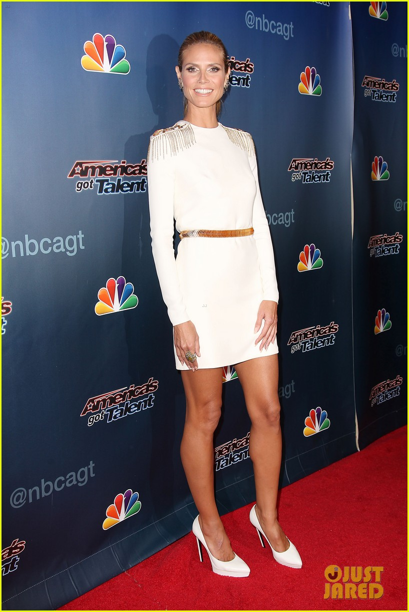 heidi klum americas got talent red carpet show 053189073