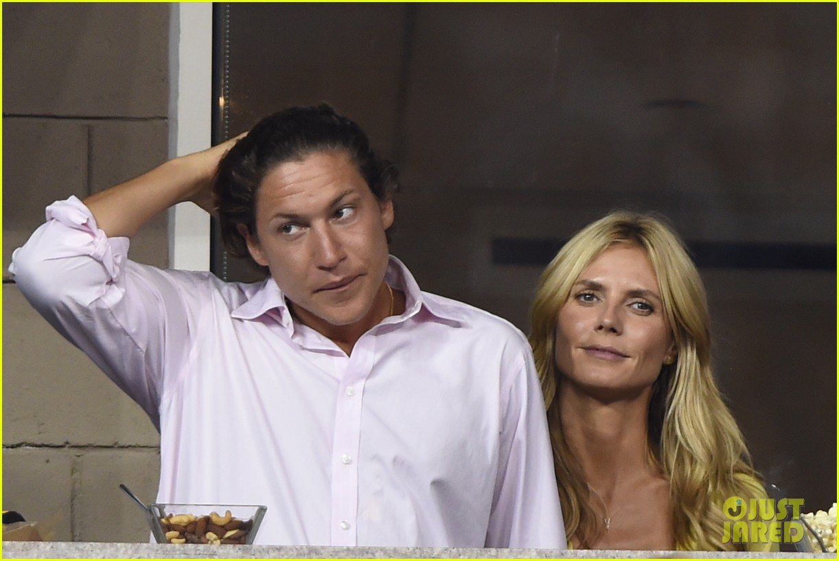 mary kate olsen heidi klum bring they significant others to us open 173187843