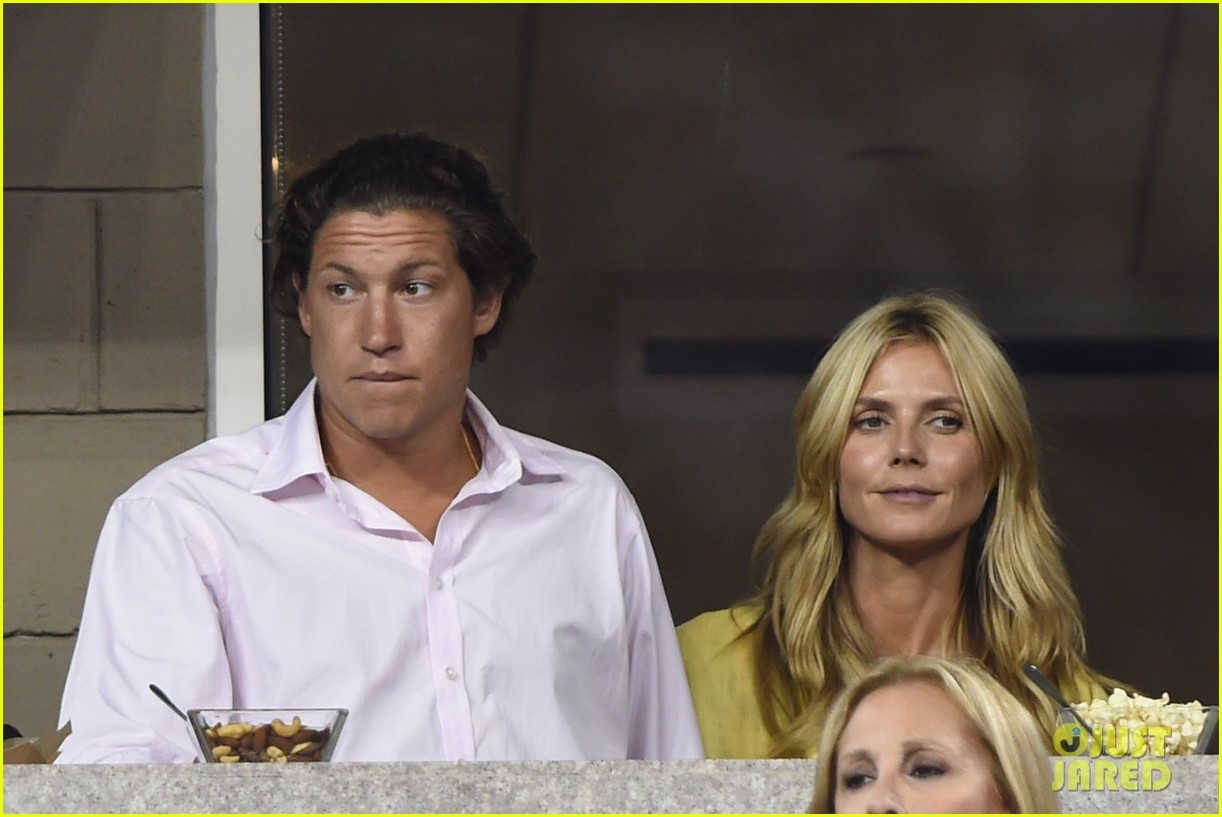 mary kate olsen heidi klum bring they significant others to us open 183187844