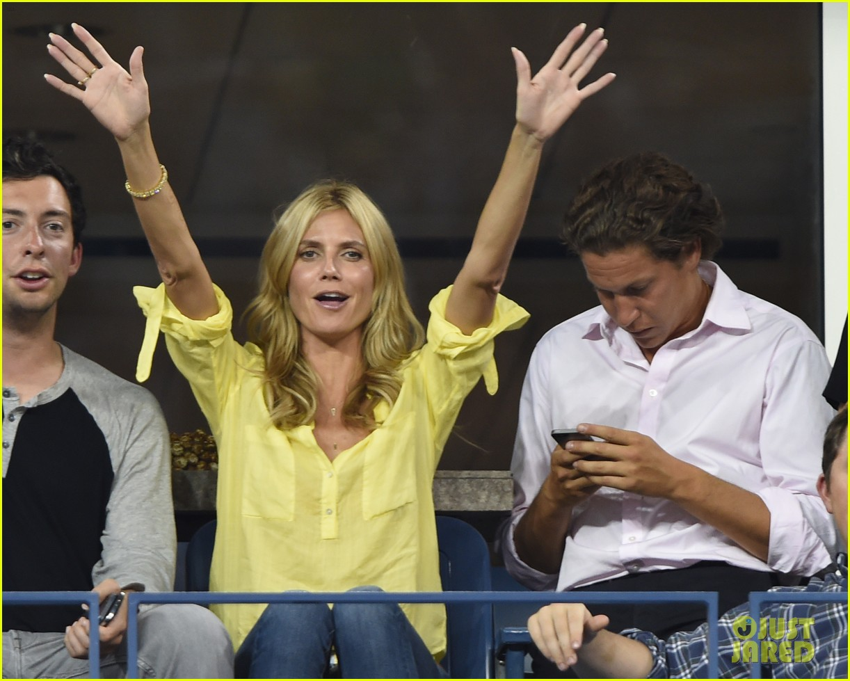mary kate olsen heidi klum bring they significant others to us open 193187845