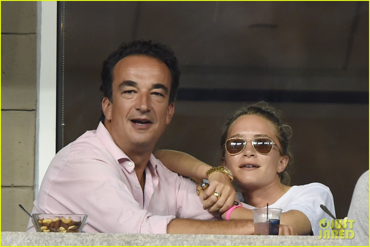 mary kate olsen heidi klum bring they significant others to us open 213187847