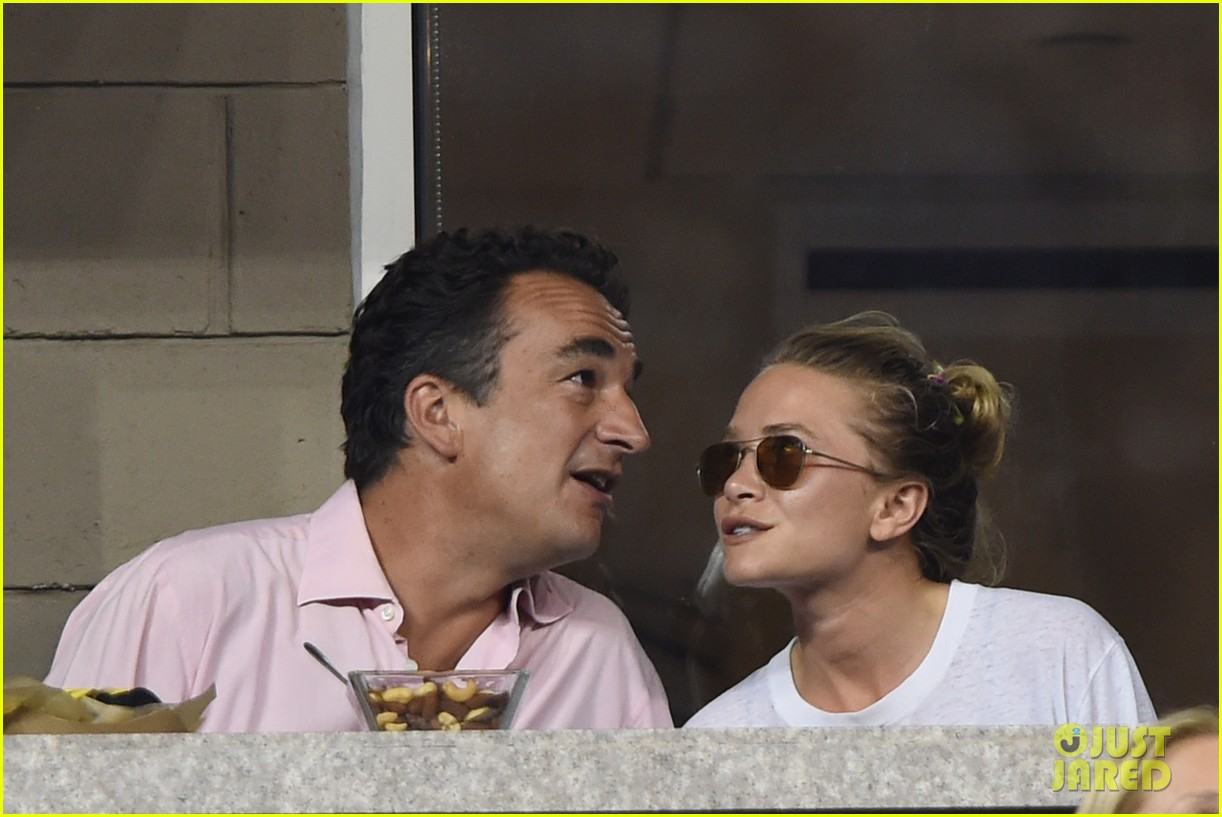 mary kate olsen heidi klum bring they significant others to us open 223187848