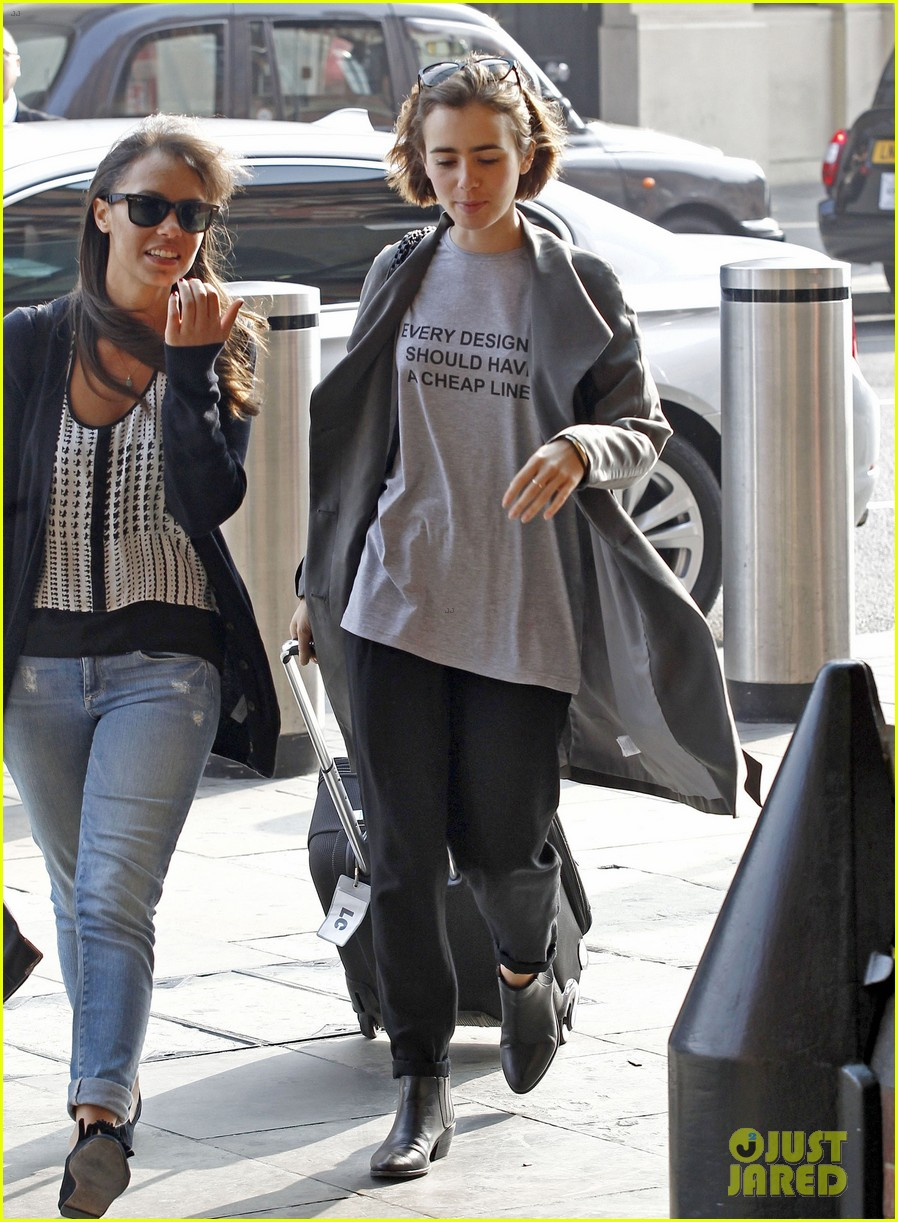 lily collins calls out expensive designers tee shirt 093199651