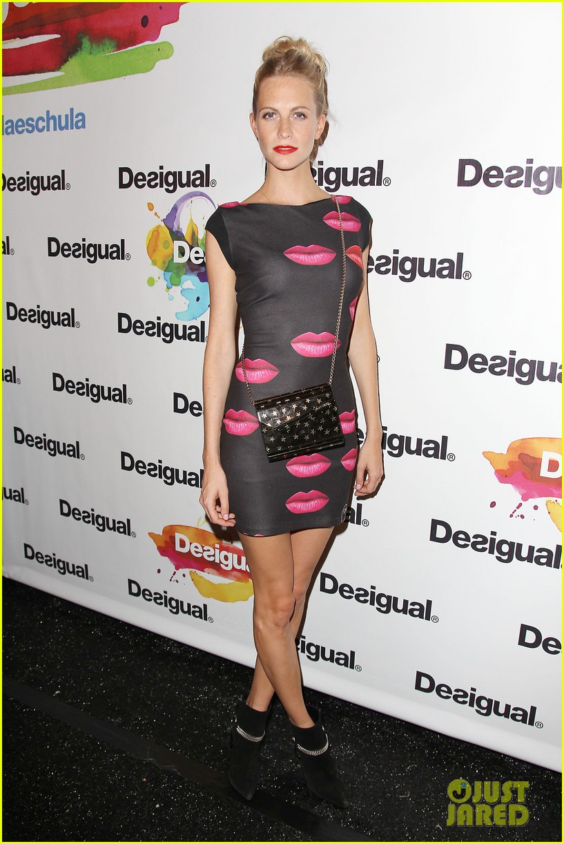 adriana lima walks the runway for desigual fashion show 153189481