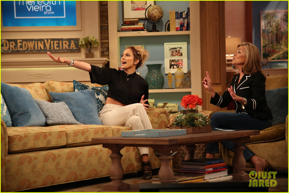 jennifer lopez plays caraoke with meredith vieira 053189461