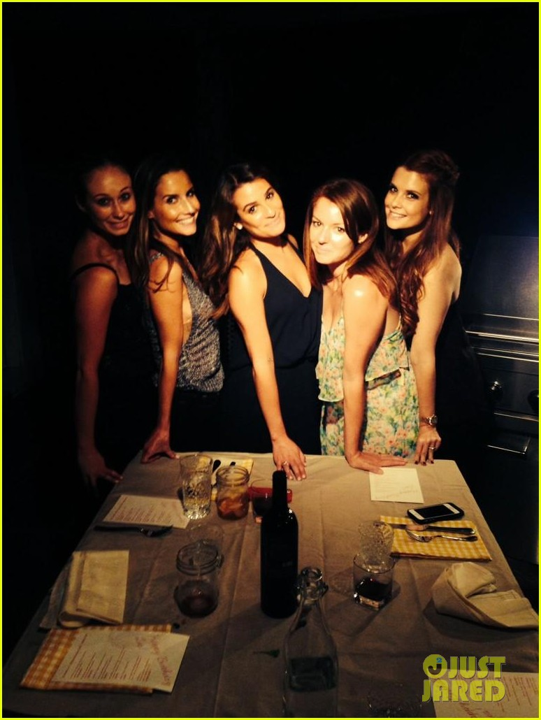 lea michele birthday dinner 053187410
