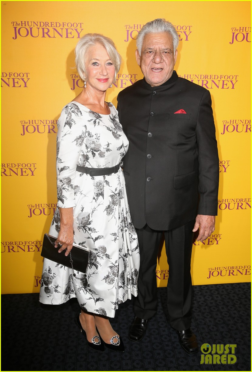 helen mirren joins co stars at hundred foot journey uk gala 013188974