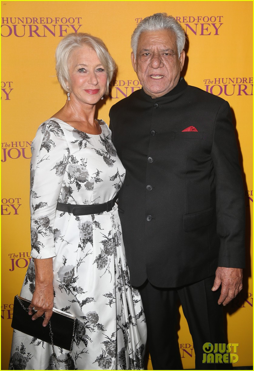 helen mirren joins co stars at hundred foot journey uk gala 063188979