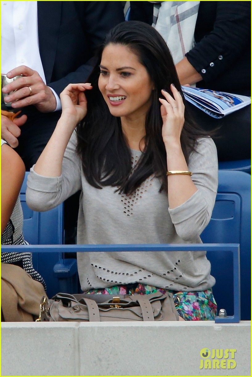 olivia munn jason sudeikis check out the us open finals 123193399