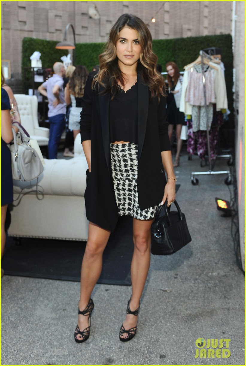 Nikki Reed Is Ready For Fall Fashion At Two Launch Events Photo 3198936 Nikki Reed Oliver