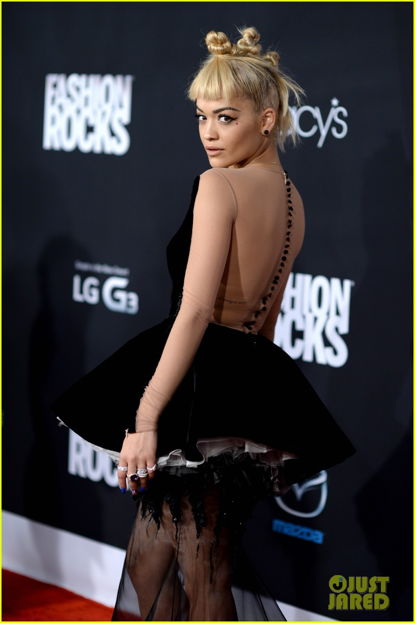 rita ora fashion rock 2014 diesel gold nyfw 043193825