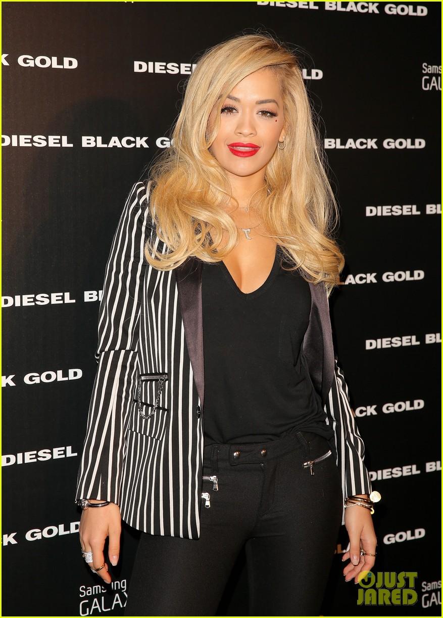 rita ora fashion rock 2014 diesel gold nyfw 073193828