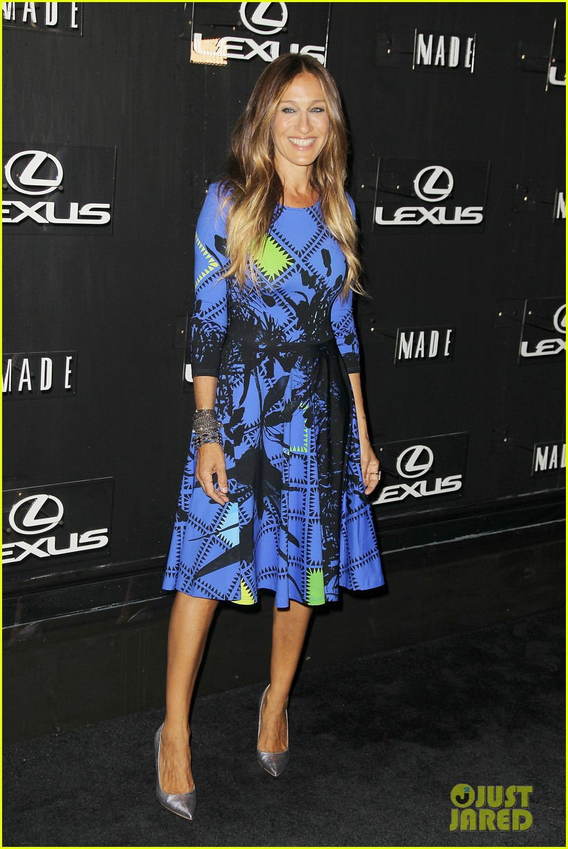 sarah jessica parker disrupts the design with lexus 093189627