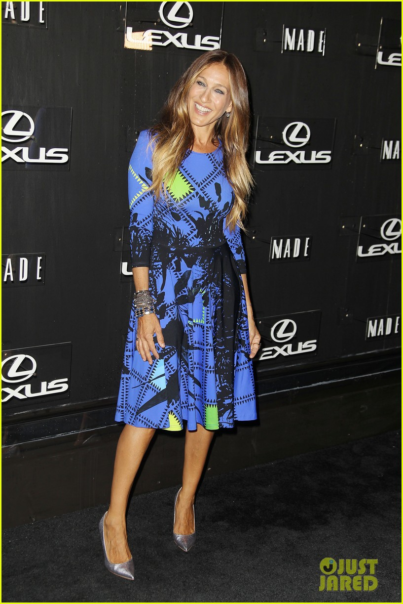 sarah jessica parker disrupts the design with lexus 103189628