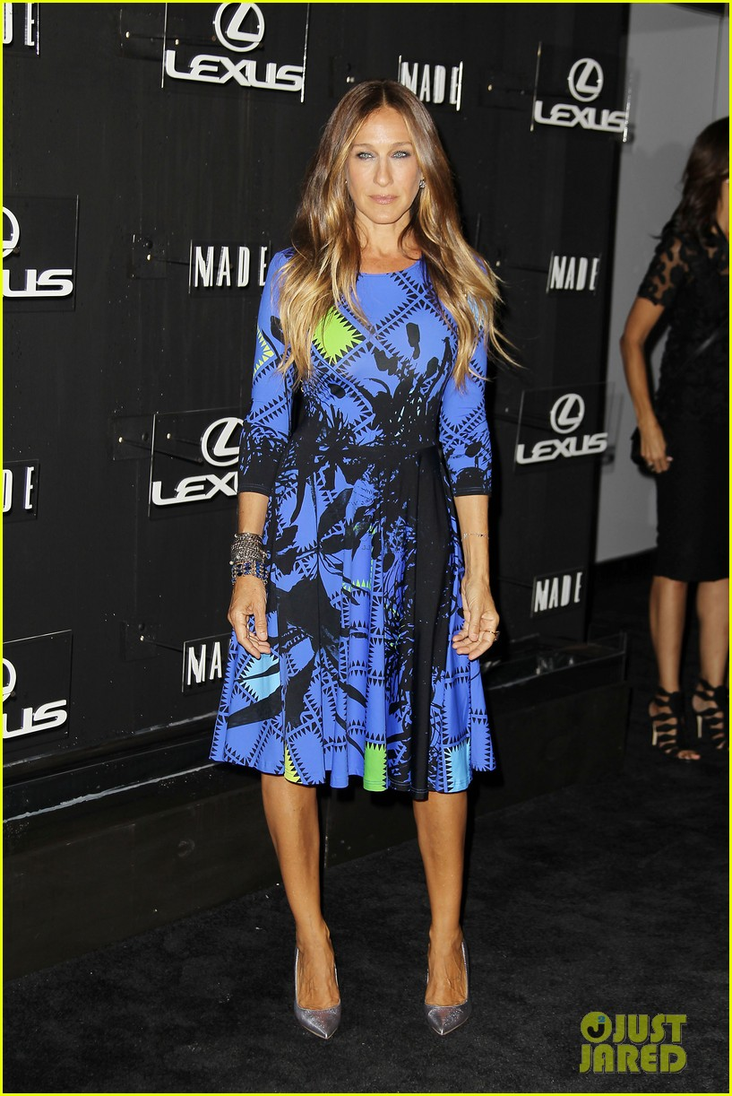 sarah jessica parker disrupts the design with lexus 12