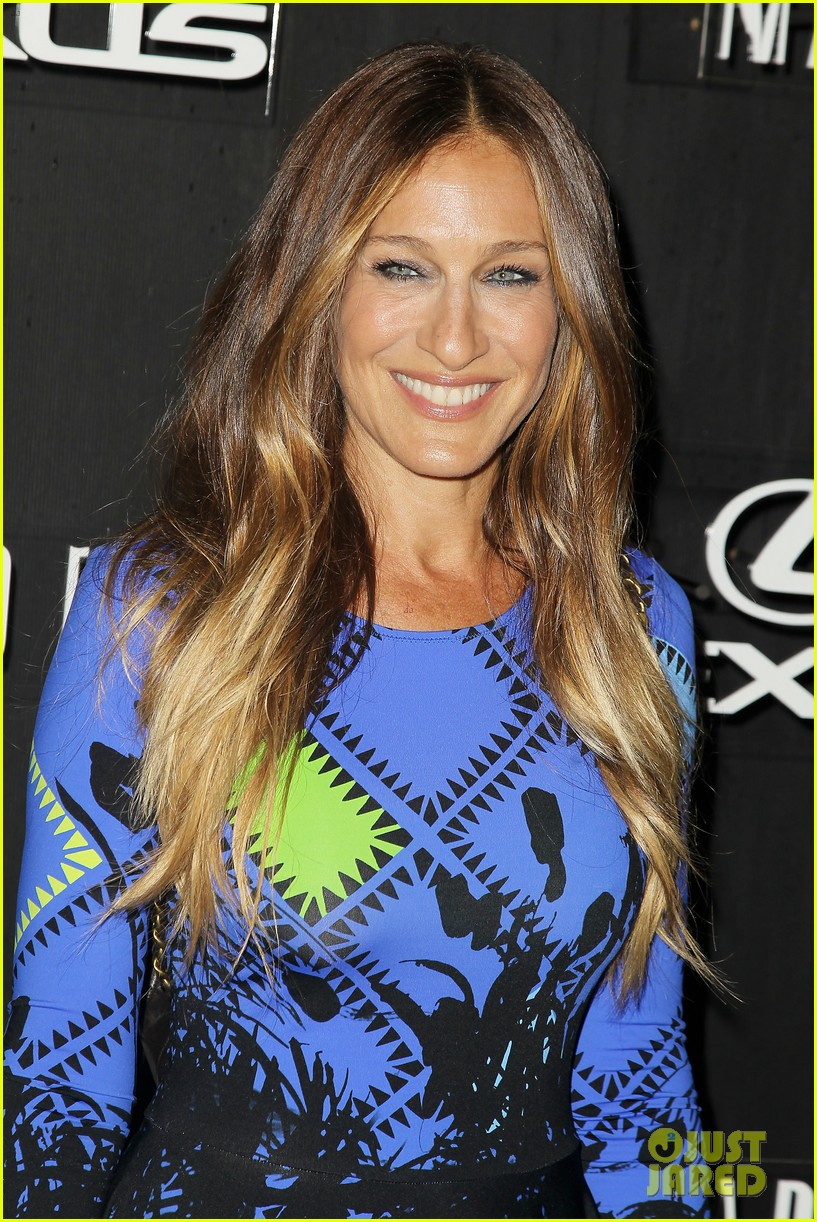 sarah jessica parker disrupts the design with lexus 183189636