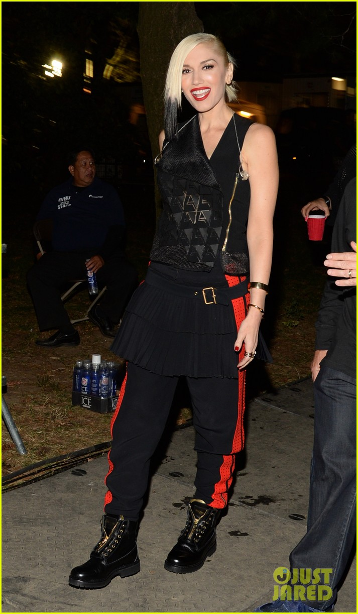 gwen stefani performs with sting at global citizen festival 2014 023206153