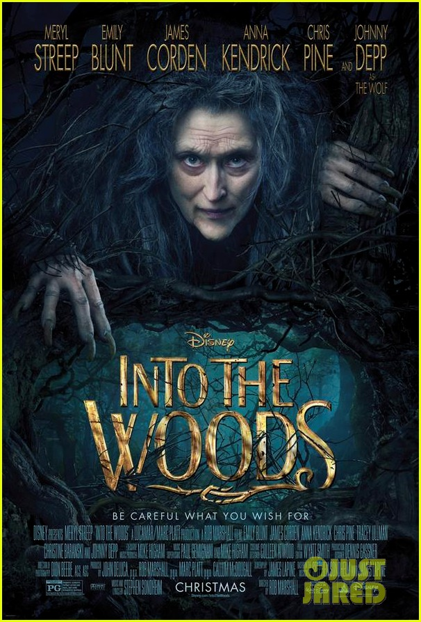 meryl streep first into the woods poster 013198207