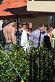 channing tatum goes swimming fully clothed shirtless joe manganiello 06